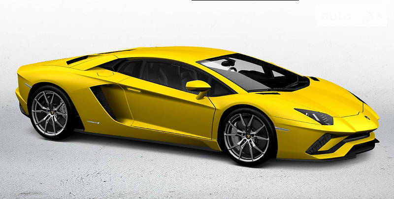 Lamborghini Aventador 2017 года