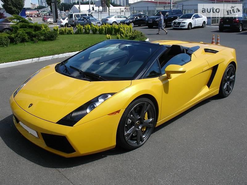 Lamborghini Gallardo 2008 року