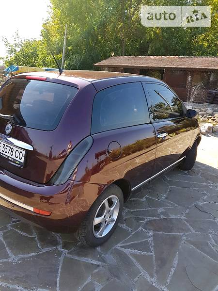 Lancia Ypsilon 2007 года