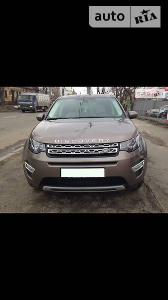 Land Rover Discovery Sport 2015 року