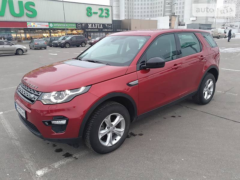 Land Rover Discovery Sport 2016 року