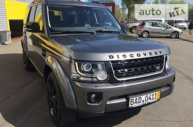 Land Rover Discovery SDV6 Black Edition 2015