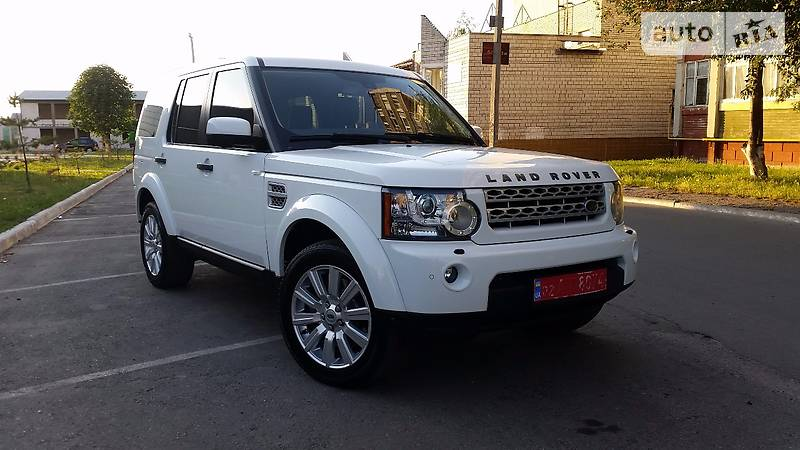 Land Rover Discovery 2011 года