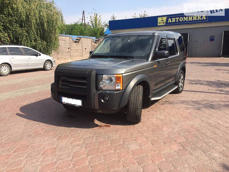 Land Rover Discovery 2007 года