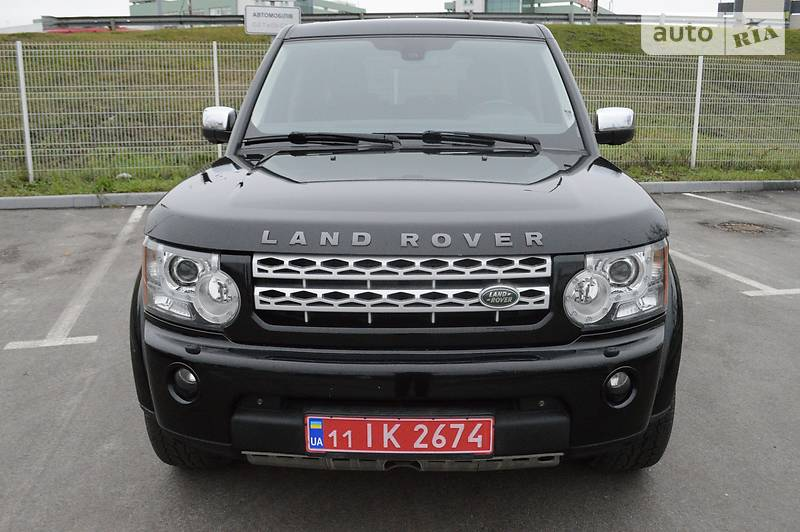 Land Rover Discovery 2012 року