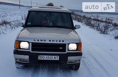 Land Rover Discovery Discovery 2. TD5 2001