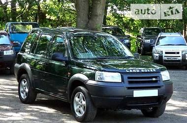 Land Rover Freelander LPG 2001