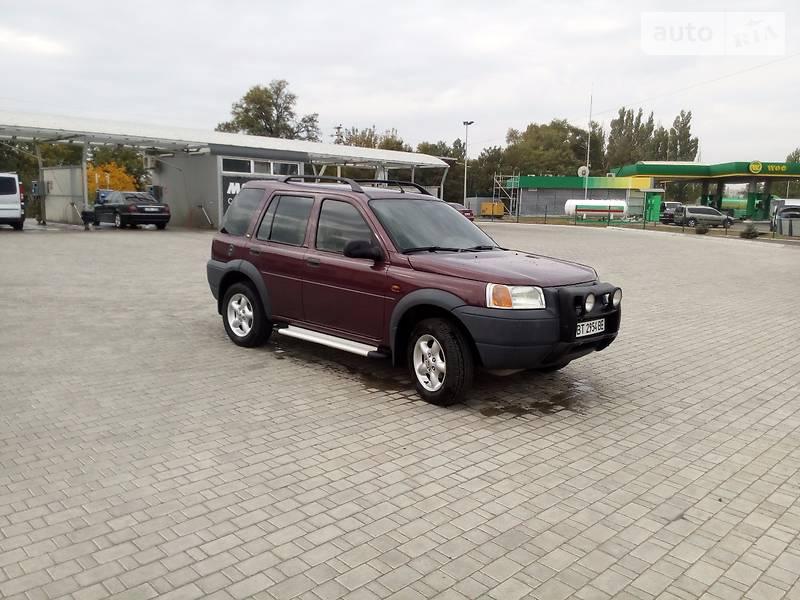 Land Rover Freelander 1998 року