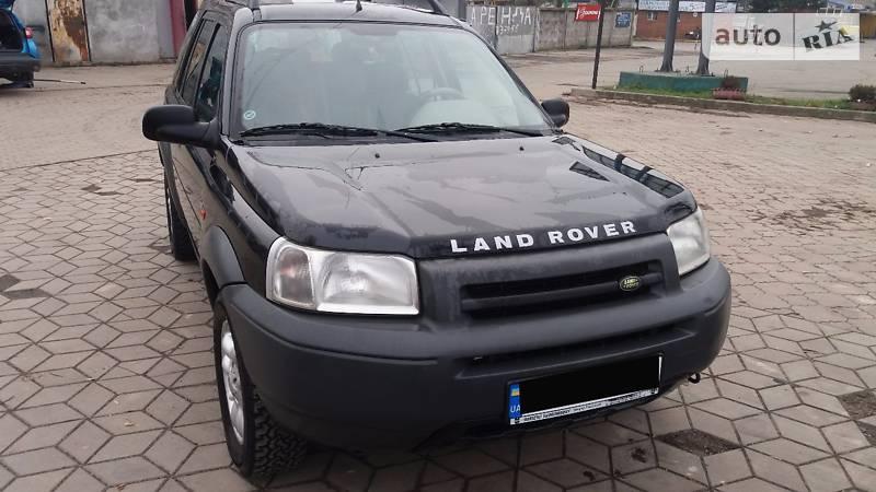 Land Rover Freelander 2001 року
