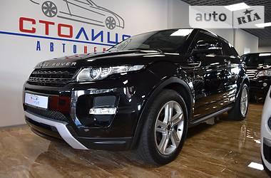Land Rover Range Rover Evoque TD4 2012