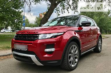 Land Rover Range Rover Evoque DYNAMIC 2012