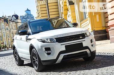 Land Rover Range Rover Evoque Dynamic + Prestige  2014