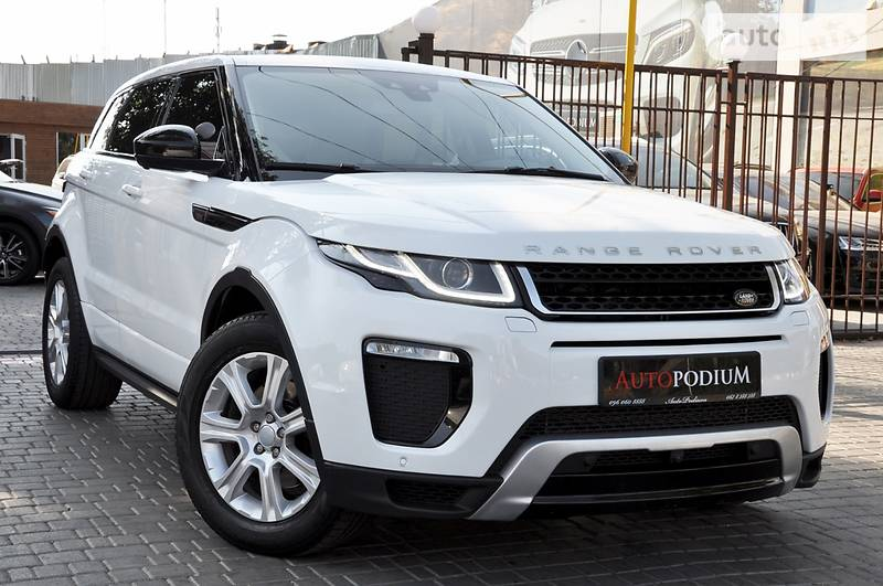 Land Rover Range Rover Evoque 2015 года