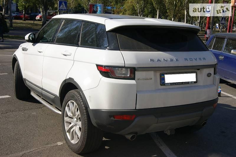 Land Rover Range Rover Evoque 2016 року
