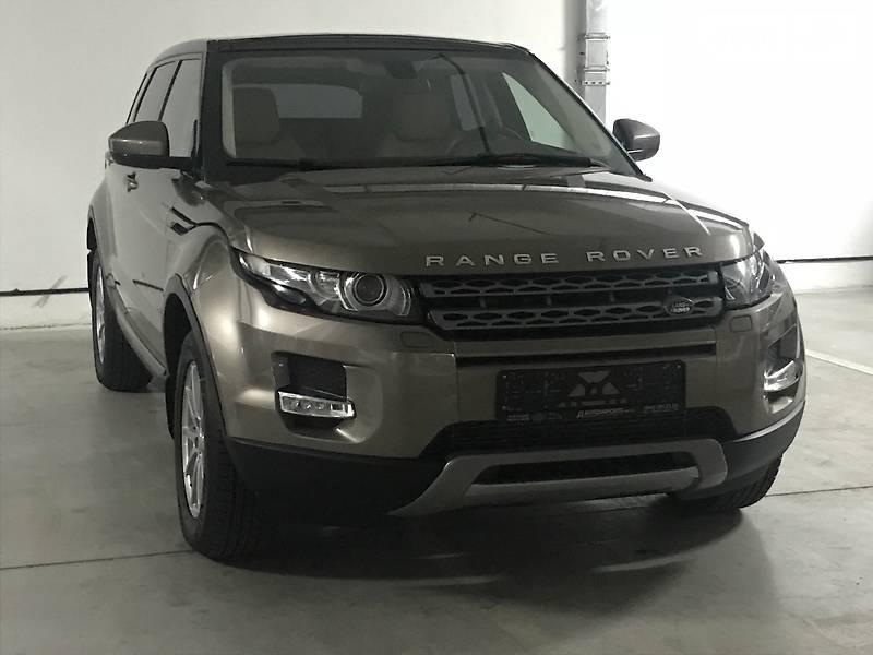 Land Rover Range Rover Evoque 2015 року