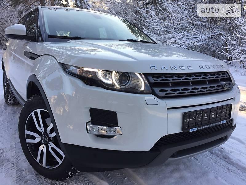Land Rover Range Rover Evoque 2014 року