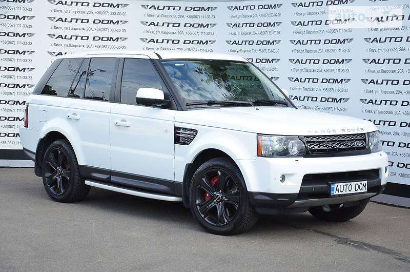Land Rover Range Rover Sport 2012 року
