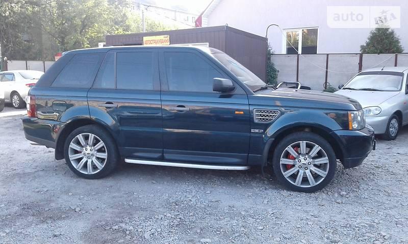 Land Rover Range Rover Sport 2007 року