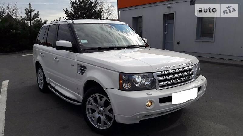 Land Rover Range Rover Sport 2008 року