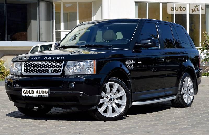 Land Rover Range Rover Sport 2009 року