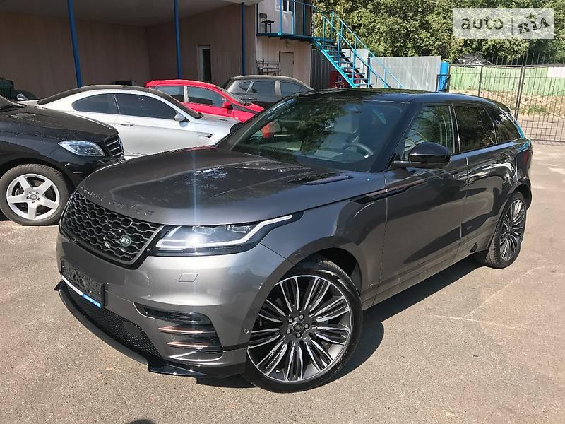 Land Rover Range Rover Velar 2017 року