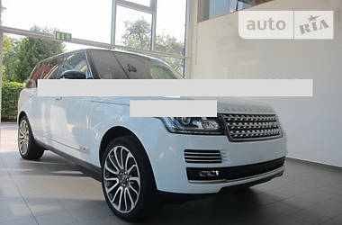 Land Rover Range Rover  Long Autobiograaphy 2015