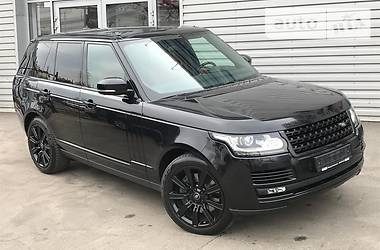 Land Rover Range Rover AUTOBIOGRAPHY BLACK 2016