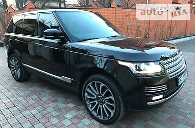 Land Rover Range Rover autobigraphy 2016
