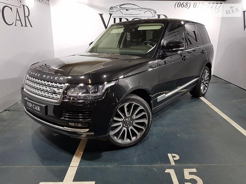 Land Rover Range Rover 2014 року