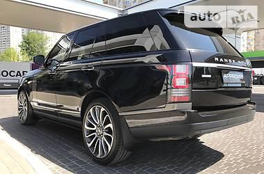 Land Rover Range Rover AUTOBIOGRAPHI 2014
