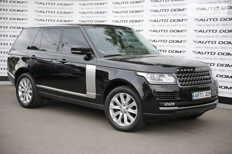 Land Rover Range Rover 2015 року