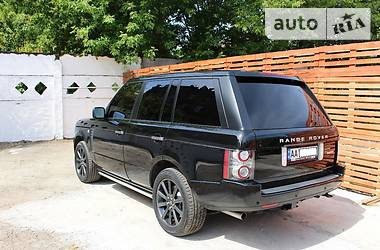 Land Rover Range Rover Black 2010