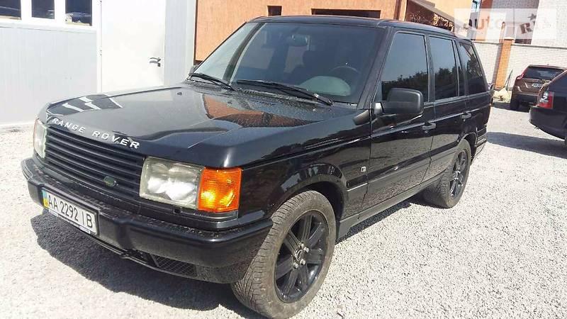Land Rover Range Rover 1999 года