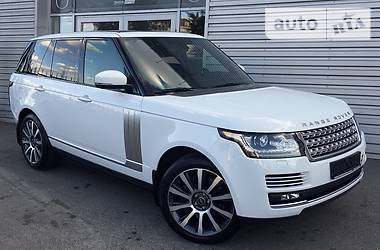 Land Rover Range Rover 5.0 AUTOBIOGRAPHY 2013