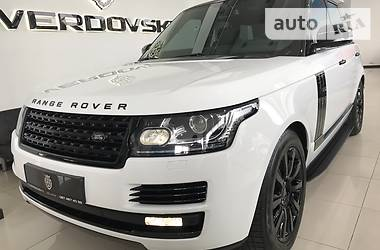 Land Rover Range Rover Vogue Black Line 2013
