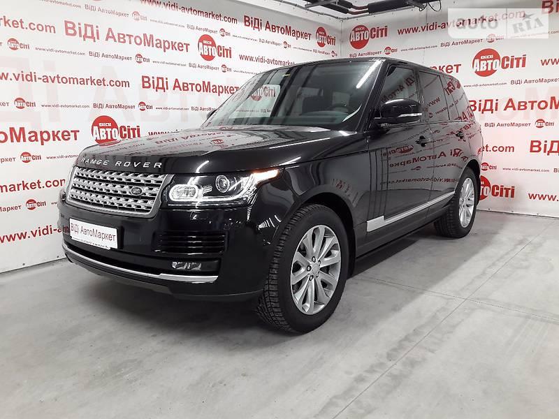 Land Rover Range Rover 2016 года