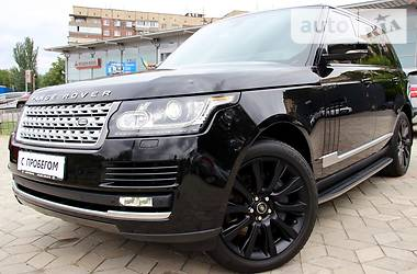 Land Rover Range Rover Black and White 2013