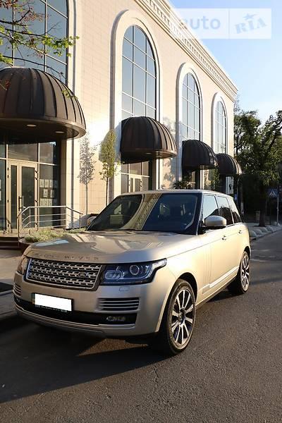 Land Rover Range Rover 2013 года