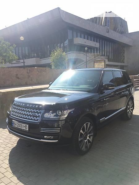 Land Rover Range Rover 2014 года