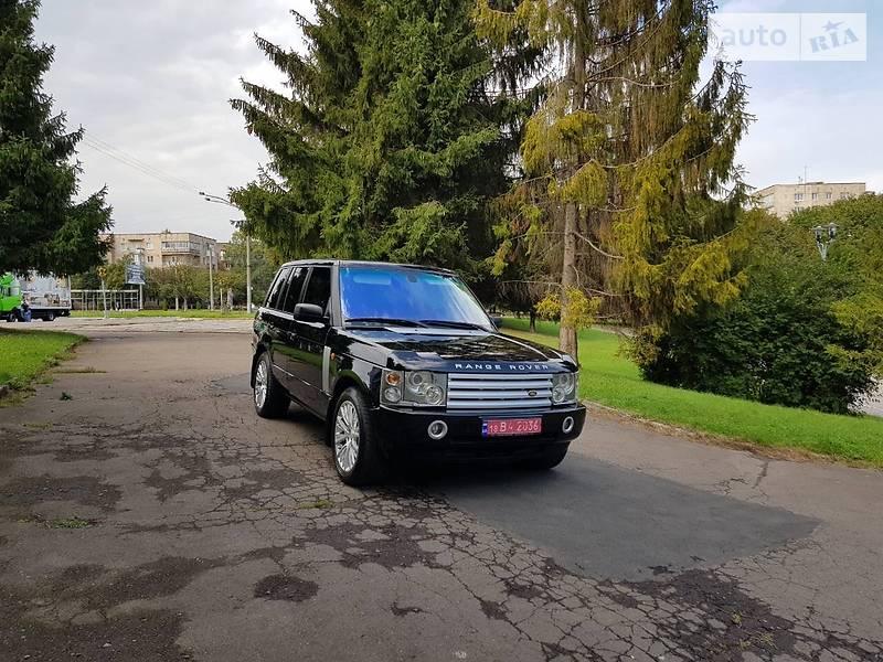 Land Rover Range Rover 2006 года
