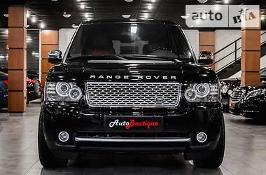 Land Rover Range Rover Autobiography Black 2011