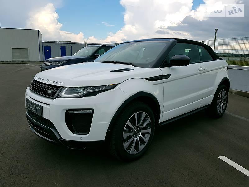 Кабріолет Land Rover