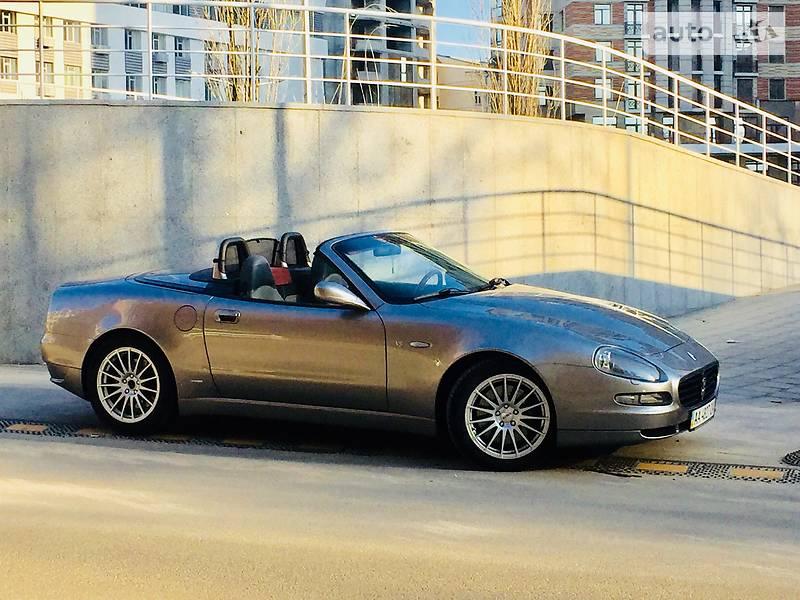 Кабріолет Maserati