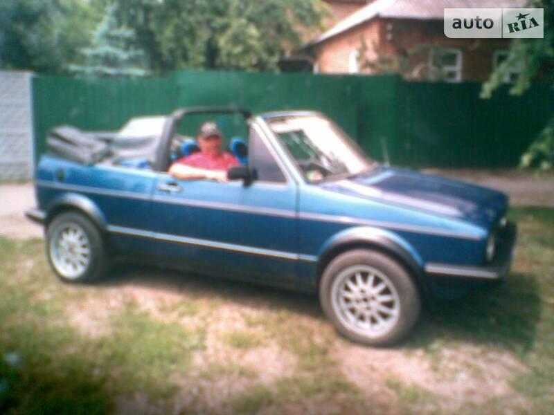 Кабріолет Volkswagen