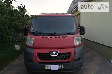 Характеристики Peugeot Boxer груз. Легковой фургон (до 1,5 т)