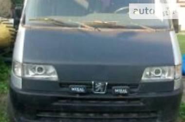 Характеристики Peugeot Boxer пасс. Легковой фургон (до 1,5 т)