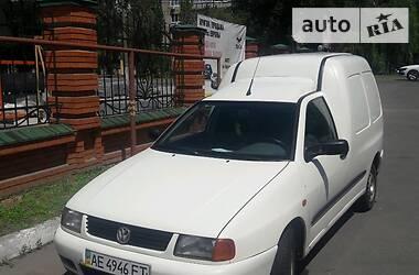 Характеристики Volkswagen Caddy груз. Легковий фургон (до 1,5т)