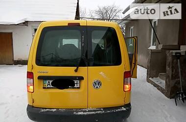 Характеристики Volkswagen Caddy пасс. Легковой фургон (до 1,5 т)