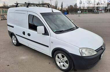 Характеристики Opel Combo груз. Легковий фургон (до 1,5т)