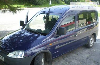 Характеристики Opel Combo пасс. Легковий фургон (до 1,5т)